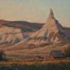 Morning at Chimney Rock