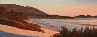Evening Ritual by Debra Joy Groesser Oil ~ 10 x 30