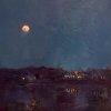 Moon over the Vue          Bellevue , Kentucky
