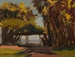 "Palm Arboretum by Susan Covert Oil ~ 8"" x 12"""