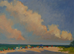Beach Day Anna Maria by Susan Covert Oil ~ 16 x 20