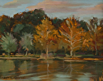 "Reflections by Susan Covert Oil ~ 8"" x 10"""