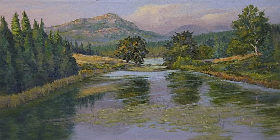 Long Pond Memories - Oil