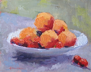 "Bright Sunshine by Carol Maguire Oil ~ 8"" x 10"""