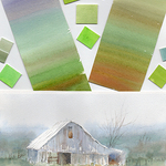 Cecy Turner - Greens Progression - Mixing Greens and Adding Depth in Watercolor