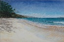 """Just Off the Beaten Path"" Maui by Bill Braden Oil ~ 18 inches x 24"