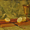 Lemons & Gold Chalice