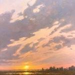 Sara Linda Poly - Painting Dramatic Light and Skies- Easton, Md 2022
