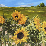 Cathryne Trachok - Cheryl Newby Gallery Small Works Show