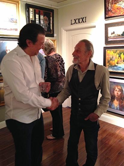 Gary Hernandez - Work Zoom: David Leffel and me