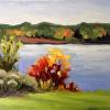 Plein air- Arcadia Lake