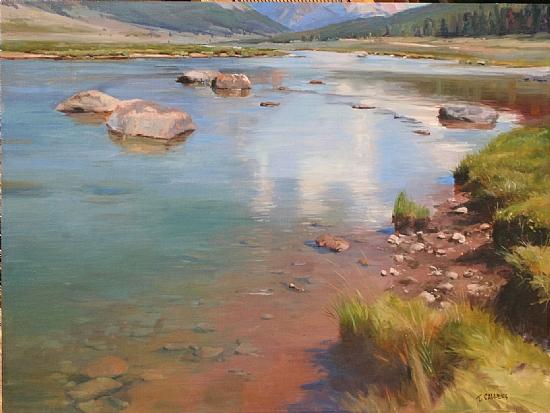 Green River Wyoming 08 - Oil on Linen