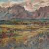 Grand Teton, Colors values by Alain Lutz Oil ~ 16 x 20
