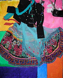 Essence-Addressing Joanne by Linda Holmes  ~ 60 x 48