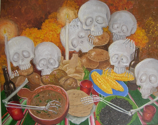 Art of the Dead Dia de los Muertos Richard Green Kamio Media
