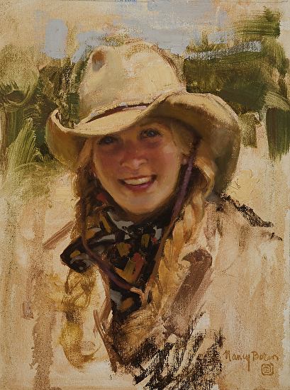 Cowgirl Country - Oil
