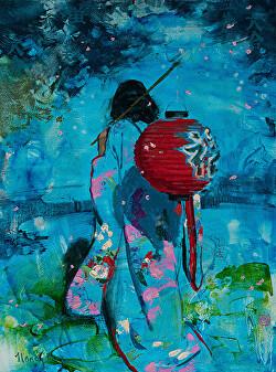 Nancy Boren - American Impressionist Society Small Works Show