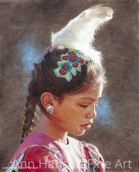 Bright Feather - Oil