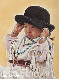 Ann Hanson - Cheyenne Frontier Days Art Show
