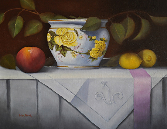 The Yellow Rose - Oil