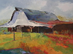 Barn Dance by Ann Watcher Oil ~ 36 x 48
