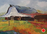 Barn Dance by Ann Watcher Oil ~ 36 x 48