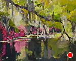 Spanish Moss by Ann Watcher Oil ~ 16 x 20