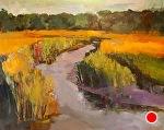 In the Salt Air of June by Ann Watcher Oil ~ 48 x 60