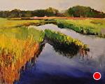 Stillness by Ann Watcher Oil ~ 24 x 30