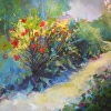 Garden Path by Ann Watcher Oil ~ 36 x 36