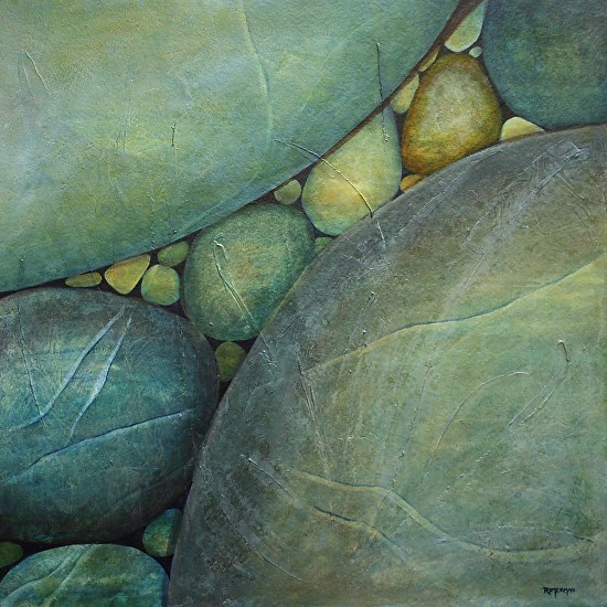 River Rocks Travel - Mixed Media