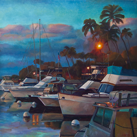 Lahaina Sunset - Oil