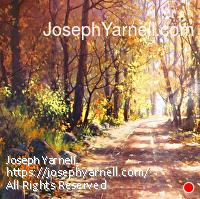 Autumn Shadows by Joseph Yarnell Acrylic ~ 40 x 30