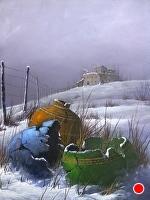 Broken Pots by Joseph Yarnell Acrylic ~ 24 x 18