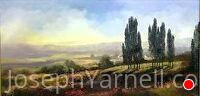 Napa Valley by Joseph Yarnell Oil ~ 15 x 30