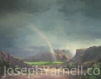 Rainbow Big Bend by Joseph Yarnell Acrylic ~ 24 x 30