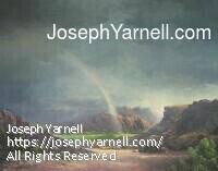 Rainbow Big Bend by Joseph Yarnell Acrylic ~ 24 x 30