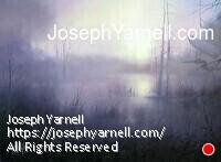 Through the Mist by Joseph Yarnell Oil ~ 18 x 24