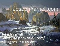 Vibrant Serenity by Joseph Yarnell Acrylic ~ 36 x 48