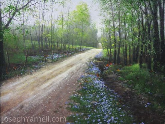 Country Road by Joseph Yarnell Acrylic ~ 18 x 24