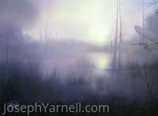 Through the Mist by Joseph Yarnell Oil ~ 18 x 24