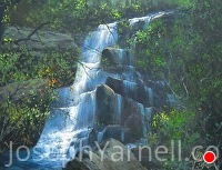 Waterfall by Joseph Yarnell  ~ 11 x 14