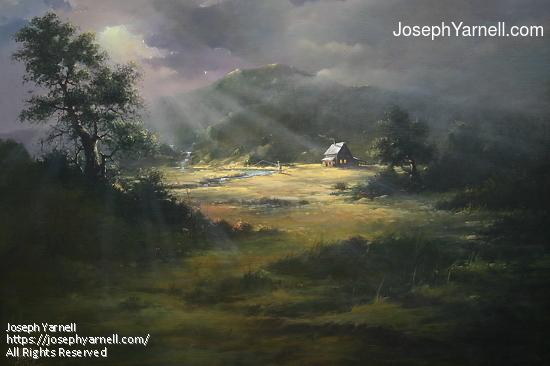 Heaven on Earth by Joseph Yarnell Acrylic ~ 36 x 48
