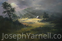 Heaven on Earth by Joseph Yarnell Acrylic ~ 36 x 48