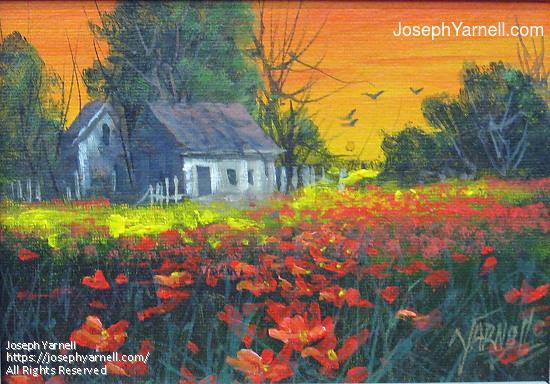 by Joseph Yarnell Acrylic ~ 5 x 7