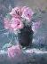 Pink Roses by Maureen Vezina