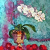 Orchids and Apples