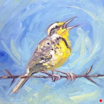 #230 by Sonja Caywood Oil ~ 8 x 8