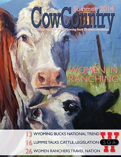 CowCountry Summer 2014 Cover -