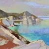 Painting of the Day - Kastro, Skiathos